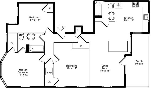3 Bedrooms, Sav-Mor Rental in Boston, MA for $3,800 - Photo 2