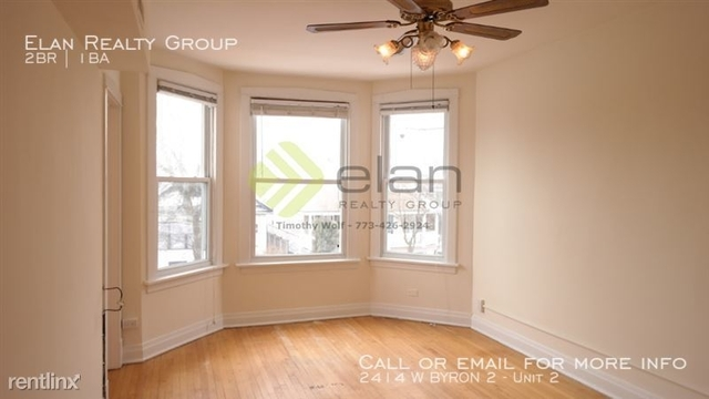 2 Bedrooms, Horner Park Rental in Chicago, IL for $1,550 - Photo 1