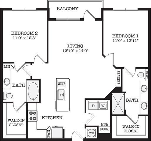 2 Bedrooms, Van Zandt Park Rental in Dallas for $2,290 - Photo 2
