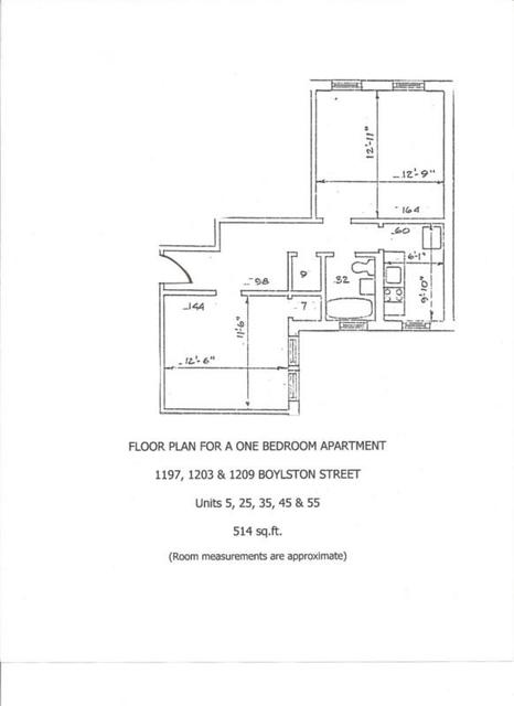 1 Bedroom, West Fens Rental in Boston, MA for $2,250 - Photo 2