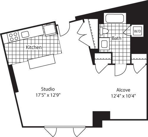 Studio, Kendall Square Rental in Boston, MA for $3,092 - Photo 1