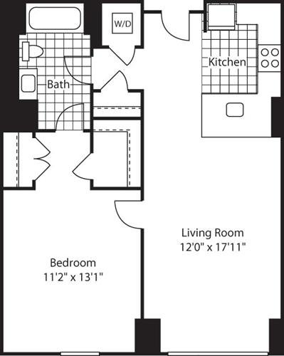 1 Bedroom, Kendall Square Rental in Boston, MA for $3,304 - Photo 1