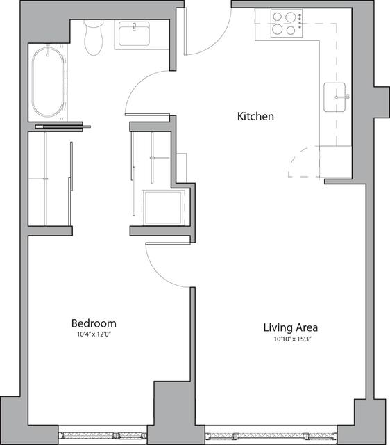 1 Bedroom, Shawmut Rental in Boston, MA for $3,060 - Photo 1