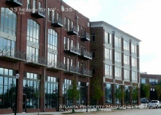 1 Bedroom, Castleberry Hill Rental in Atlanta, GA for $1,300 - Photo 1