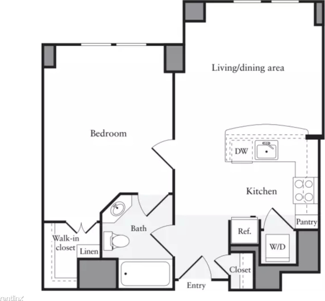 1 Bedroom, Downtown Boston Rental in Boston, MA for $3,350 - Photo 1