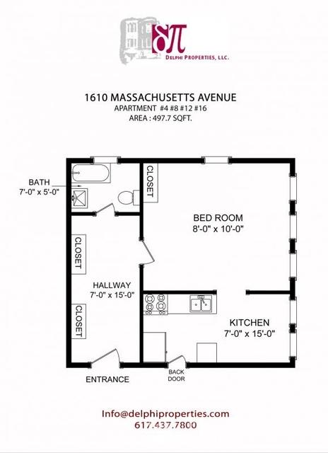 Studio, Neighborhood Nine Rental in Boston, MA for $1,900 - Photo 2