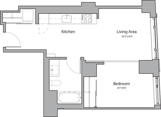 1 Bedroom, Shawmut Rental in Boston, MA for $2,955 - Photo 1