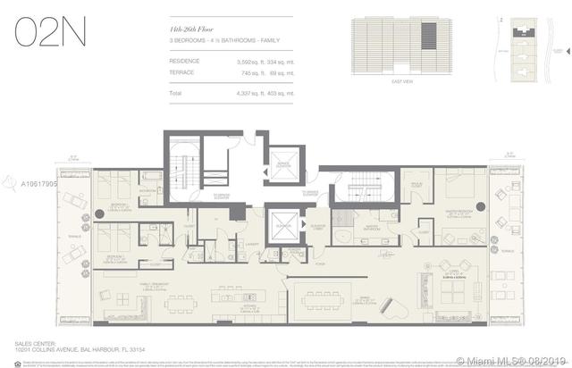 4 Bedrooms, Bal Harbor Ocean Front Rental in Miami, FL for $30,000 - Photo 2