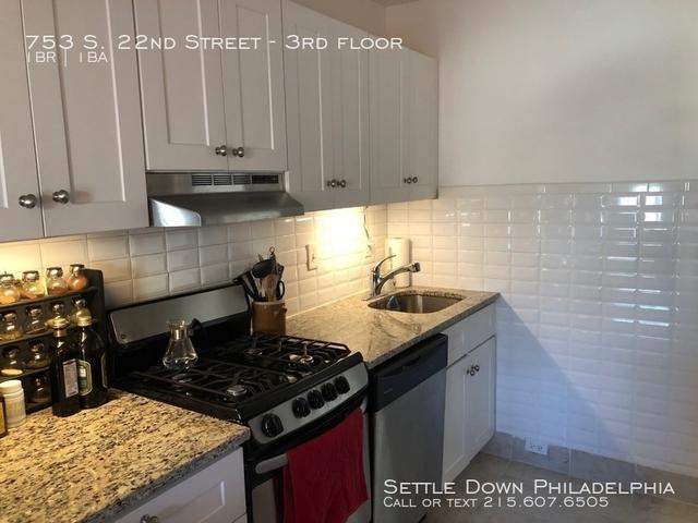 1 Bedroom, Graduate Hospital Rental in Philadelphia, PA for $1,295 - Photo 1