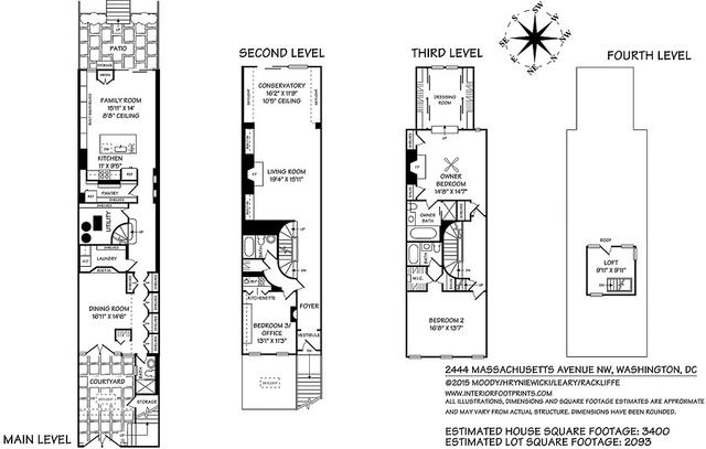 3 Bedrooms, Kalorama Rental in Washington, DC for $6,950 - Photo 2