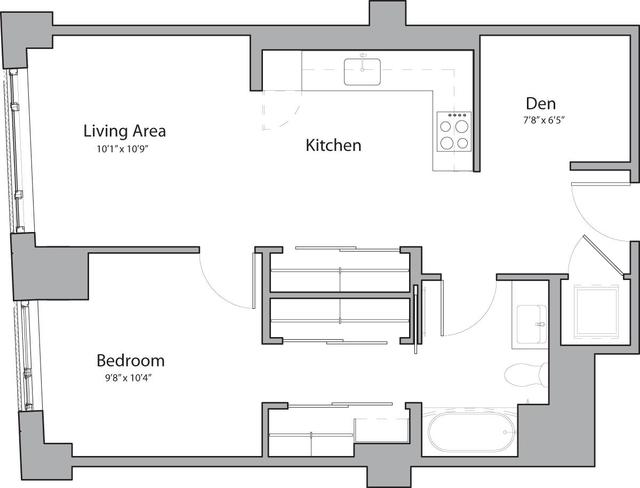1 Bedroom, Shawmut Rental in Boston, MA for $3,210 - Photo 1