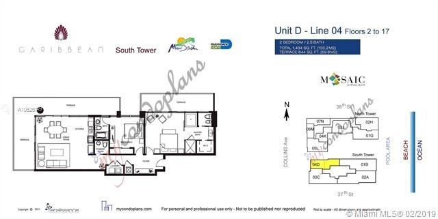 2 Bedrooms, Oceanfront Rental in Miami, FL for $7,450 - Photo 2