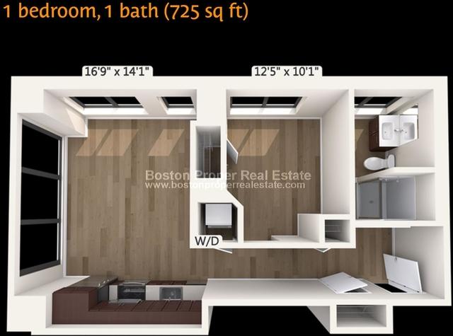1 Bedroom, Downtown Boston Rental in Boston, MA for $3,130 - Photo 1