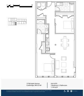 2 Bedrooms, Porter Square Rental in Boston, MA for $4,100 - Photo 2