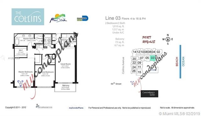 2 Bedrooms, North Shore Rental in Miami, FL for $3,350 - Photo 2