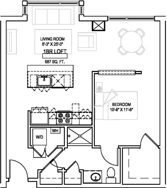 1 Bedroom, Faulkner Rental in Boston, MA for $2,189 - Photo 2