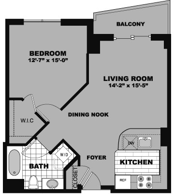 1 Bedroom, Bank Square Rental in Boston, MA for $2,340 - Photo 2