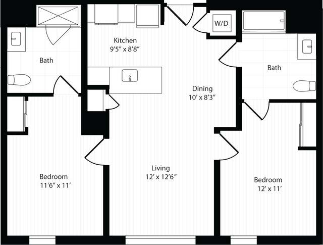 2 Bedrooms, Harrison Lenox Rental in Boston, MA for $4,550 - Photo 1