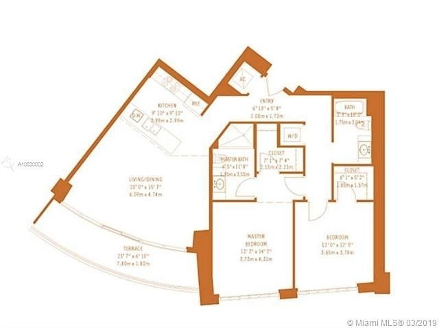 2 Bedrooms, Midtown Miami Rental in Miami, FL for $2,800 - Photo 2