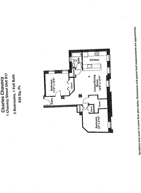 2 Bedrooms, Neighborhood Nine Rental in Boston, MA for $3,215 - Photo 1