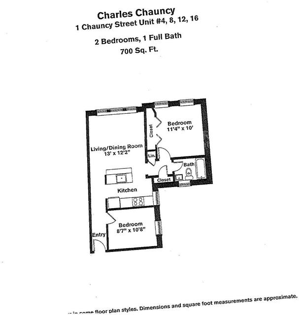1 Bedroom, Neighborhood Nine Rental in Boston, MA for $3,160 - Photo 1