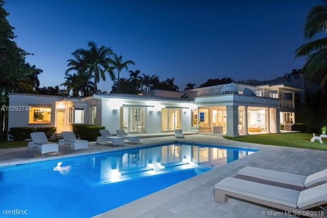 7 Bedrooms, La Gorce Island Rental in Miami, FL for $43,000 - Photo 1