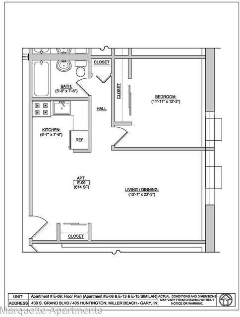 1 Bedroom, Miller Rental in Chicago, IL for $595 - Photo 2