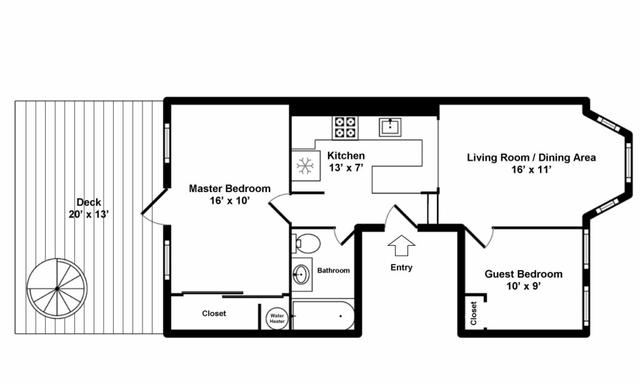 2 Bedrooms, Harrison Lenox Rental in Boston, MA for $2,900 - Photo 2
