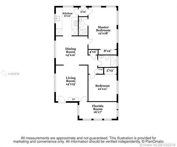 2 Bedrooms, Granada Rental in Miami, FL for $2,675 - Photo 2