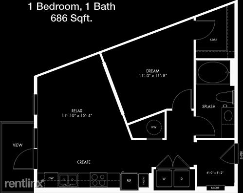 1 Bedroom, Astrodome Rental in Houston for $1,266 - Photo 1