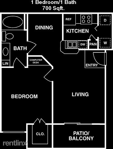 1 Bedroom, Memorial Heights Rental in Houston for $1,273 - Photo 2