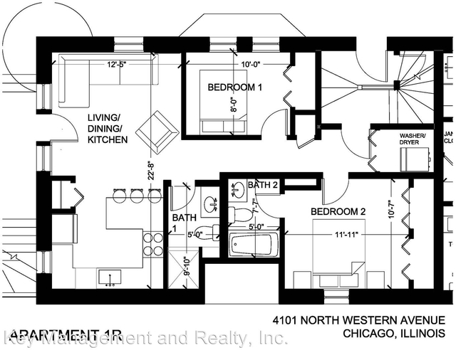 2 Bedrooms, North Center Rental in Chicago, IL for $1,875 - Photo 2