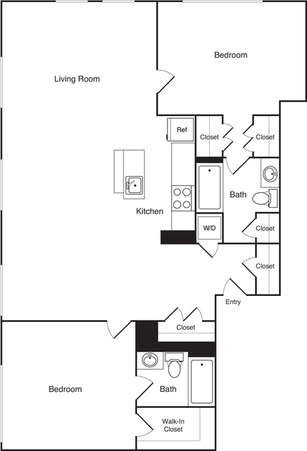 2 Bedrooms, Financial District Rental in Boston, MA for $4,005 - Photo 1