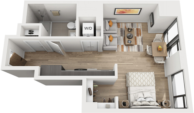 Studio, Shawmut Rental in Boston, MA for $3,379 - Photo 1