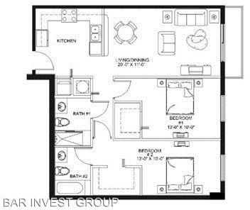 2 Bedrooms, East Little Havana Rental in Miami, FL for $1,800 - Photo 2