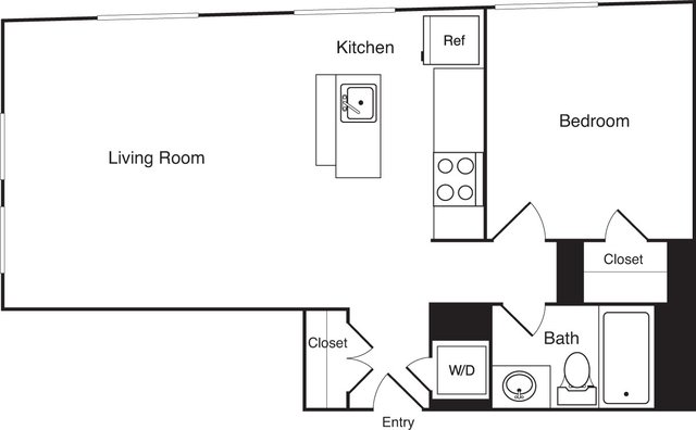 1 Bedroom, Financial District Rental in Boston, MA for $3,265 - Photo 2