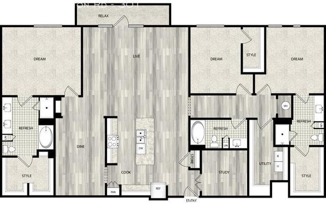 3 Bedrooms, North Central Dallas Rental in Dallas for $7,000 - Photo 1