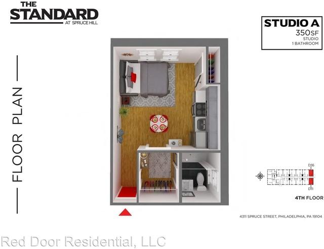 1 Bedroom, Spruce Hill Rental in Philadelphia, PA for $1,400 - Photo 2