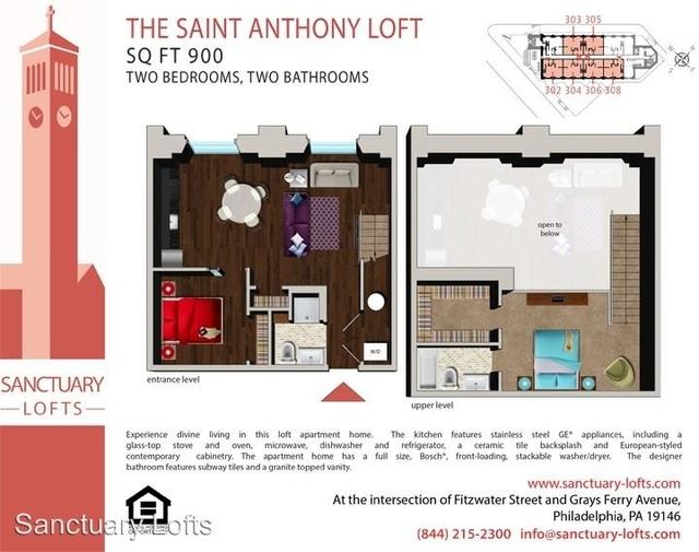 2 Bedrooms, Graduate Hospital Rental in Philadelphia, PA for $2,350 - Photo 2