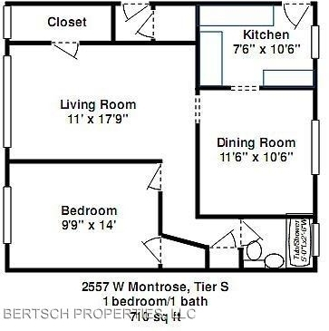 1 Bedroom, Horner Park Rental in Chicago, IL for $1,195 - Photo 2