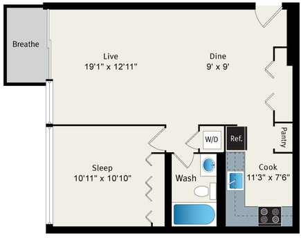 1 Bedroom, Park West Rental in Chicago, IL for $2,146 - Photo 2