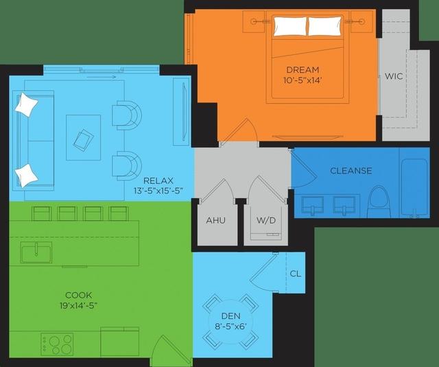 1 Bedroom, Miami Fashion District Rental in Miami, FL for $2,754 - Photo 2