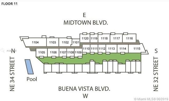 2 Bedrooms, Midtown Miami Rental in Miami, FL for $3,000 - Photo 2