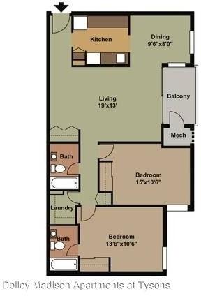 2 Bedrooms, East Side Rental in Washington, DC for $2,295 - Photo 1