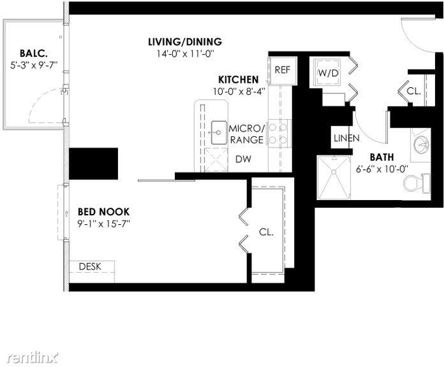 5 Bedrooms, Goose Island Rental in Chicago, IL for $2,531 - Photo 1