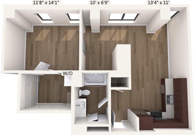 1 Bedroom, Downtown Boston Rental in Boston, MA for $3,460 - Photo 1