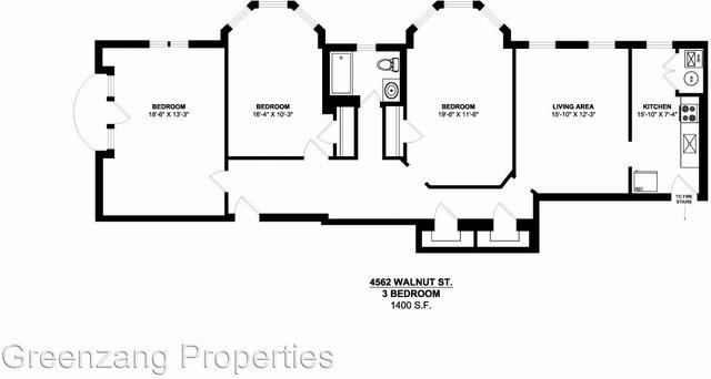 3 Bedrooms, Walnut Hill Rental in Philadelphia, PA for $1,395 - Photo 2