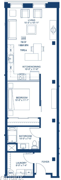 1 Bedroom, Streeterville Rental in Chicago, IL for $2,535 - Photo 2