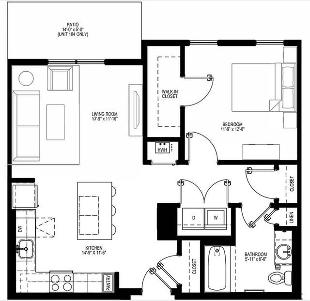 1 Bedroom, Oak Square Rental in Boston, MA for $2,400 - Photo 2