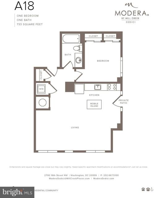 2 Bedrooms, Adams Morgan Rental in Washington, DC for $6,195 - Photo 2